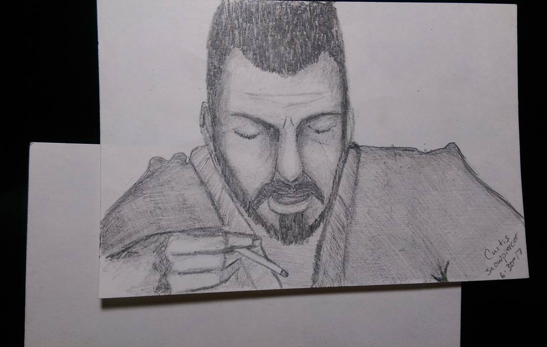 """""""Curtis"""" from the movie, Snowpiercer"""